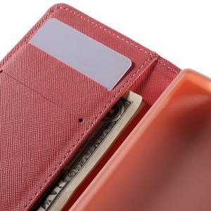 Wally Peňaženkové puzdro pre Sony Xperia Z5 Compact - srdce - 7