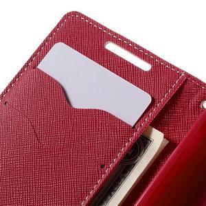 Fancy PU kožené pouzdro na Sony Xperia Z5 Compact - růžové - 7