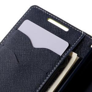 Fancy PU kožené pouzdro na Sony Xperia Z5 Compact - zelené - 7