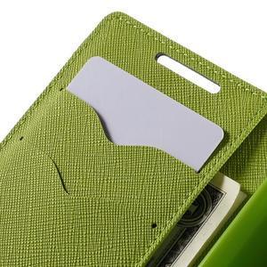 Fancy PU kožené puzdro pre Sony Xperia Z5 Compact - tmavomodré - 7