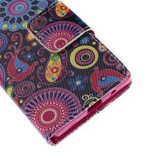 Diary peněženkové pouzdro na Sony Xperia Z5 Compact - flower - 7