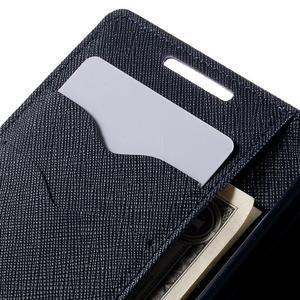 Fancy PU kožené pouzdro na Sony Xperia Z5 Compact - fialové - 7
