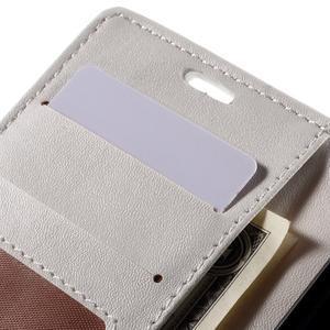 Croco Peňaženkové puzdro pre Sony Xperia Z5 Compact - biele - 7