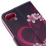 Diary Peňaženkové puzdro pre Sony Xperia Z5 Compact - srdce - 7/7