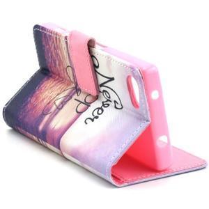 Peňaženkové puzdro pre mobil Sony Xperia Z5 Compact - neprestávaj snívať - 7