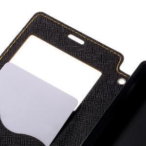 Puzdro s okienkom na Sony Xperia Z5 Compact - žlté - 7