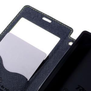 Puzdro s okienkom na Sony Xperia Z5 Compact - zelené - 7