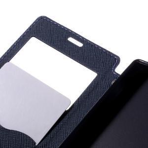 Puzdro s okienkom na Sony Xperia Z5 Compact - fialové - 7