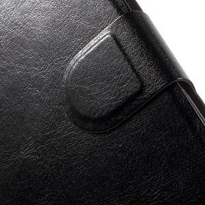 Horse peňaženkové puzdro pre mobil Xiaomi Mi5 - čierne - 7