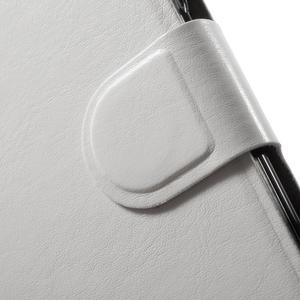 Horse peněženkové pouzdro na mobil Xiaomi Mi5 - bílé - 7