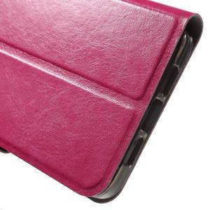 Horse peňaženkové puzdro pre mobil Xiaomi Mi5 - rose - 7
