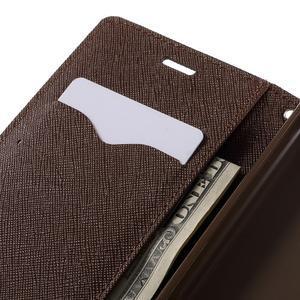 Diary PU kožené puzdro pre mobil Xiaomi Redmi 3 - čierne/hnedé - 7