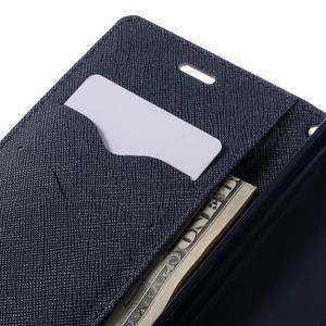 Diary PU kožené pouzdro na mobil Xiaomi Redmi 3 - fialové - 7