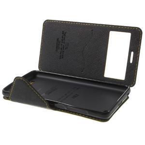 Diary view peněženkové pouzdro na Xiaomi Redmi 3 - žluté - 7