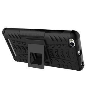 Outdoor odolný obal pre mobil Xiaomi Redmi 3 - čierný - 7