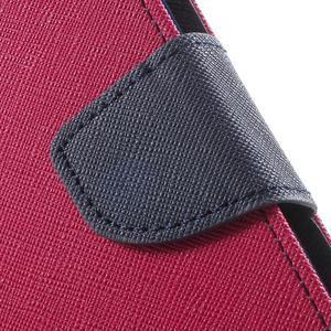 Goos PU kožené pouzdro na Xiaomi Redmi Note 2 - rose - 7