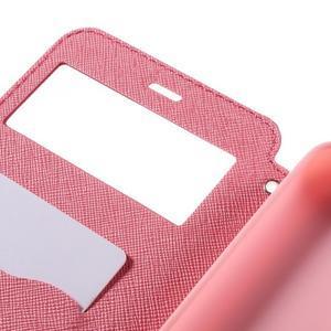 Diary pouzdro s okýnkem na mobil Xiaomi Redmi Note 3  - rose - 7