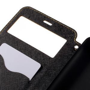 Diary pouzdro s okýnkem na mobil Xiaomi Redmi Note 3  - žluté - 7