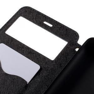 Diary pouzdro s okýnkem na mobil Xiaomi Redmi Note 3  - tmavěmodré - 7