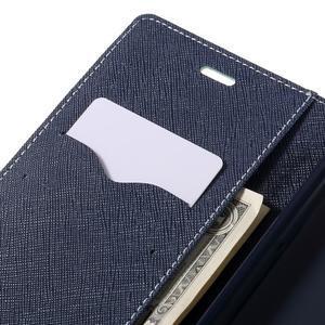 Wallet PU kožené puzdra na Xiaomi Redmi Note 3 - azurové - 7