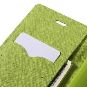Wallet PU kožené puzdra na Xiaomi Redmi Note 3 - tmavomodré - 7