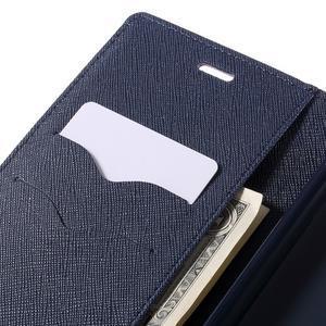 Wallet PU kožené pouzdra na Xiaomi Redmi Note 3 - fialové - 7