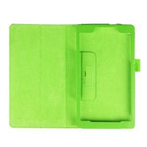 Dvojpolohové puzdro pre tablet Lenovo Tab 2 A7-20 - zelené - 7