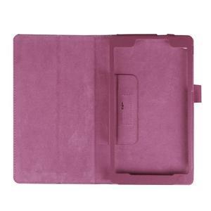 Dvoupolohové pouzdro na tablet Lenovo Tab 2 A7-20 - fialové - 7