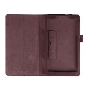 Dvoupolohové pouzdro na tablet Lenovo Tab 2 A7-20 - tmavěhnědé - 7