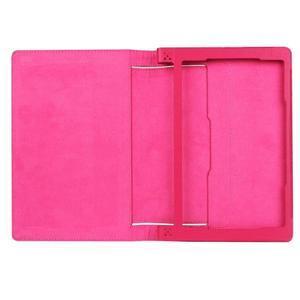 Safe PU kožené puzdro pre tablet Lenovo Yoga Tab 3 8.0 - rose - 7