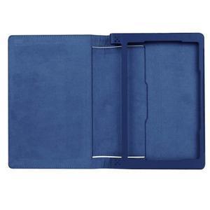 Safe PU kožené pouzdro na tablet Lenovo Yoga Tab 3 8.0 - tmavěmodré - 7