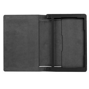 Safe PU kožené puzdro pre tablet Lenovo Yoga Tab 3 8.0 - čierné - 7