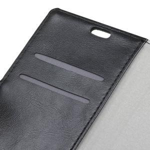 Leat PU kožené pouzdro Lenovo Vibe P1 - černé - 7