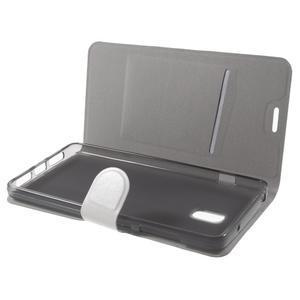 Horse peňaženkové puzdro pre Lenovo Vibe P1 - bielé - 7