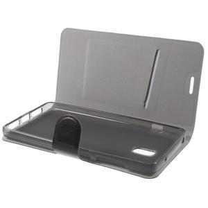 Horse peňaženkové puzdro pre Lenovo Vibe P1 - čierné - 7