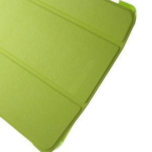 Trifold polohovatelné puzdro na Samsung Galaxy Tab A 9.7 - zelené - 7