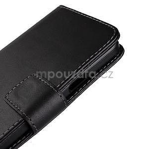 Kožené puzdro na Samsung Galaxy A3 - biele - 7