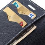 Diary puzdro na mobil Samsung Galaxy S Duos / Trend Plus - azurové - 7/7