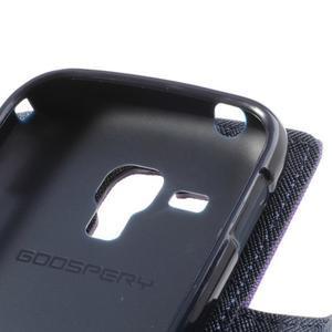 Diary puzdro na mobil Samsung Galaxy S Duos / Trend Plus - fialové - 7