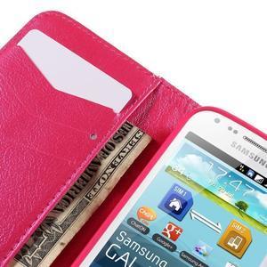 Peňaženkové puzdro pre Samsung Galaxy S Duos / Trend Plus -  srdce - 7