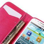 Peňaženkové puzdro pre Samsung Galaxy S Duos / Trend Plus -  srdce - 7/7