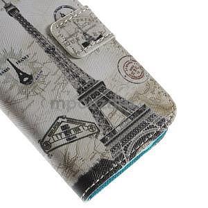 Peňaženkové puzdro pre Samsung Galaxy S4 mini - Eiffelova veža - 7