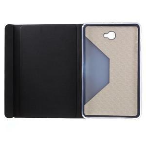 Flippy štýlové puzdro na Samsung Galaxy Tab A 10.1 (2016) - čierné - 7
