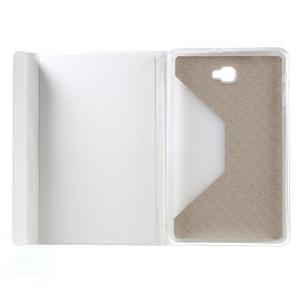 Flippy štýlové puzdro na Samsung Galaxy Tab A 10.1 (2016) - bielé - 7