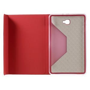Flippy štýlové puzdro pre Samsung Galaxy Tab A 10.1 (2016) - červené - 7