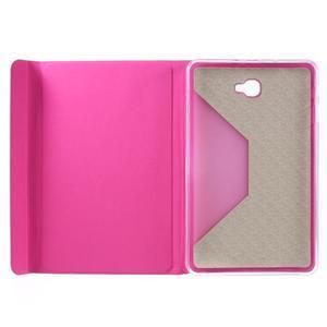 Flippy štýlové puzdro pre Samsung Galaxy Tab A 10.1 (2016) - rose - 7
