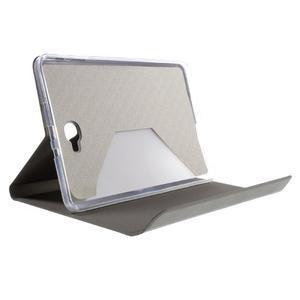 Flippy štýlové puzdro pre Samsung Galaxy Tab A 10.1 (2016) - šedé - 7