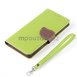 Leaf Peňaženkové puzdro pre Sony Xperia Z3 Compact - zelené - 7