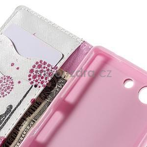 Puzdro pre mobil Sony Xperia Z3 Compact - devče a púpavy - 7