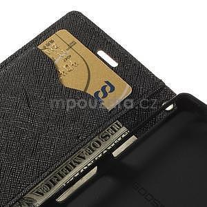 Diary Peňaženkové puzdro pre mobil Sony Xperia Z3 Compact - hnedé - 7